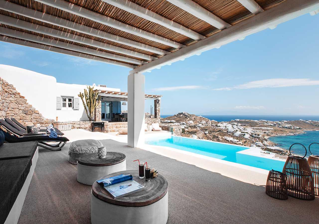 Villa Diana Mykonos Greece