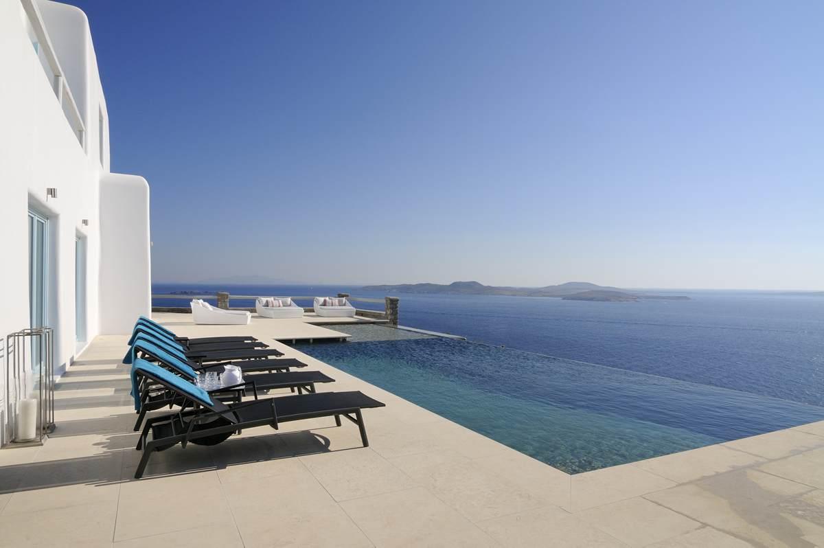 Villa Paradiso Mykonos Greece
